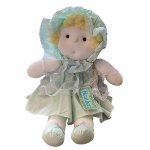 Russ Berrie Heather Baby Doll Plush Vintage NWT